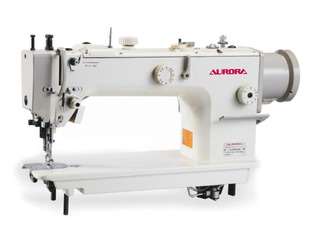 Aurora A-611D Lockstitich sewing machine with unison feed and direct drive