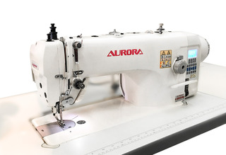 Aurora A-9622 Industrial sewing machine with unison feed and direct drive