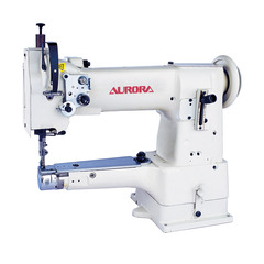 AURORA A-335B cylinder bed sewing machine with enlarged shuttle