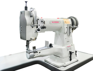 AURORA A-335B-LG cylinder bed sewing machine with enlarged hook for edge binding