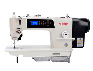 AURORA A-9300H Lockstitch sewing machine for sewing medium and heavy materials
