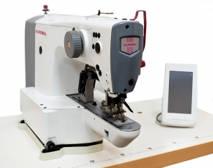 AURORA A-1900 Electronic bartacking machine with 16x2 mm sewing field