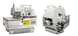 3-thread micro-overlock AURORA A-737-ES-HM with a household motor