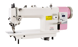 AURORA A-0302D-CX Direct drive sewing machine with a presser foot feed