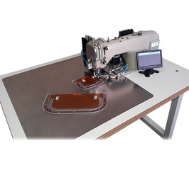 AAS-5200 - Automatic sewing machine for sewing collars and cuffs
